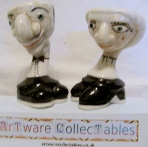 Lustre Pottery Walking Ware Punch &,Judy Set - L/E No.1 - SOLD